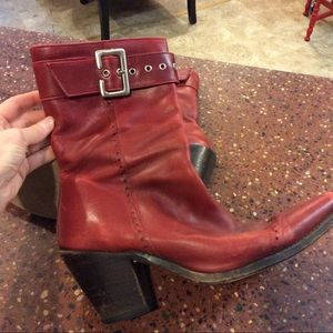 Red Sancho Boots!